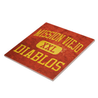 Mission Viejo Diablos Athletics Ceramic Tiles