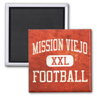 Mission Viejo Diablos Football 2 Inch Square Magnet