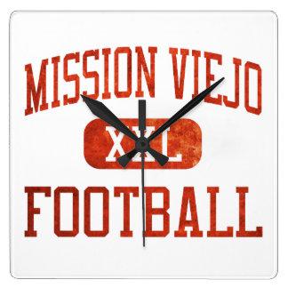 Mission Viejo Diablos Football Clocks