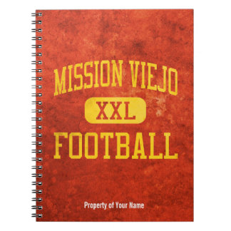 Mission Viejo Diablos Football Note Books