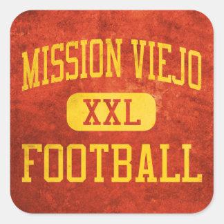 Mission Viejo Diablos Football Square Sticker