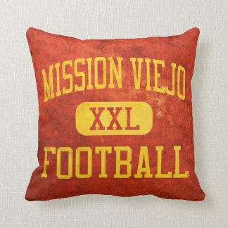 Mission Viejo Diablos Football Throw Pillow