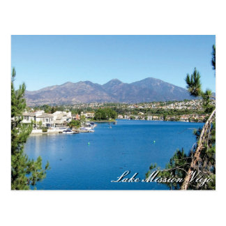 Mission Viejo Lake Post Card