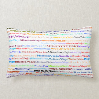 Mission Viejo Text Design I Throw Pillow
