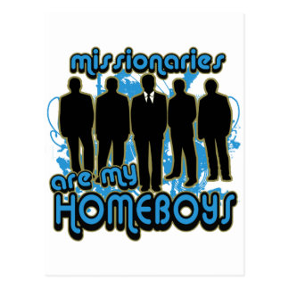 Missionaries Are My Homeboys Postcard