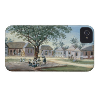 Missionary Buildings, St. Johns, Antigua (w/c and iPhone 4 Case-Mate Cases