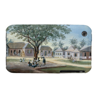 Missionary Buildings, St. Johns, Antigua (w/c and iPhone 3 Case