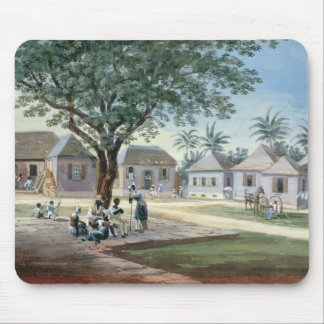 Missionary Buildings, St. Johns, Antigua (w/c and Mouse Pad
