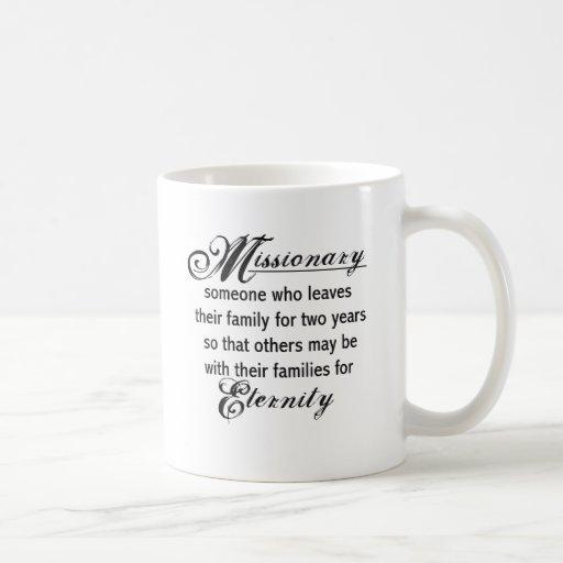 Missionary Eternity Classic White Coffee Mug
