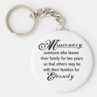 Missionary Eternity Keychain