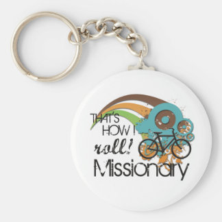 Missionary How I Roll Keychain