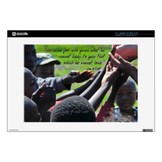 Missionary Jim Elliot Inspiring Quote Skins For Laptops
