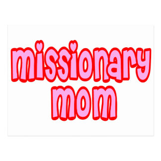 Missionary Mom Postcards