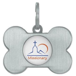 MISSIONARY PET TAGS