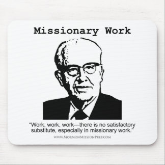 Missionary Work Benson Mouse Pad