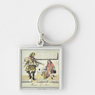 Missions of the 17th Century Keychain