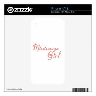 Mississauga Girl iPhone 4S Skin