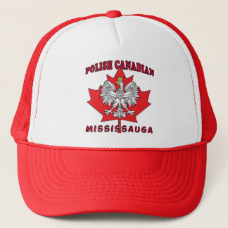 Mississauga Polish Canadian Leaf Trucker Hat