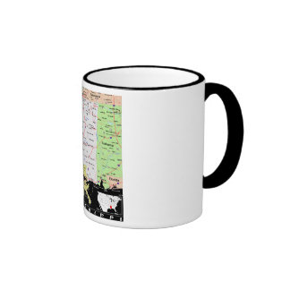Mississipi Map Mug