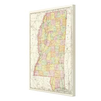 Mississippi 10 impresión en lona