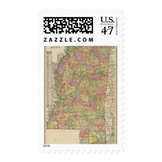 Mississippi 10 postage