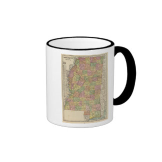 Mississippi 10 taza a dos colores