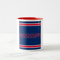 Mississippi 11 oz Two-Tone Mug