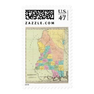 Mississippi 11 postage