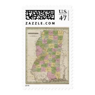 Mississippi 2 postage