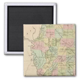 Mississippi 3 magnet