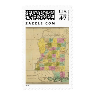 Mississippi 4 postage