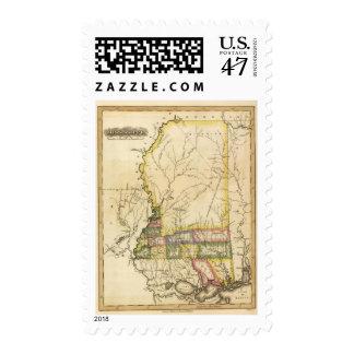 Mississippi 5 postage