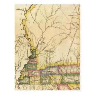 Mississippi 5 postcard