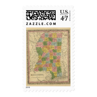 Mississippi 6 postage
