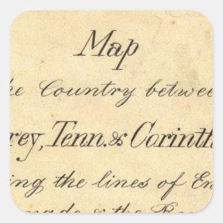 Mississippi 7 square sticker