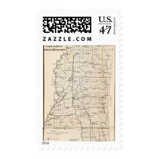 Mississippi 8 postage