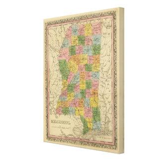 Mississippi 9 canvas print