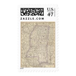 Mississippi 9 postage