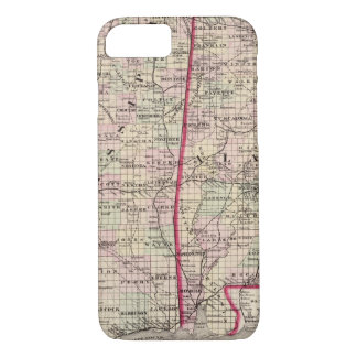 Mississippi and Alabama iPhone 7 Case