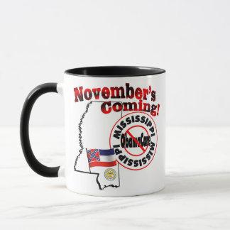 Mississippi Anti ObamaCare – November's Coming! Mug