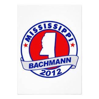 Mississippi Bachmann Custom Invites