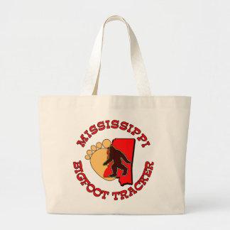 Mississippi Bigfoot Tracker Canvas Bag