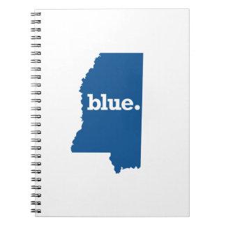 MISSISSIPPI BLUE STATE SPIRAL NOTEBOOK