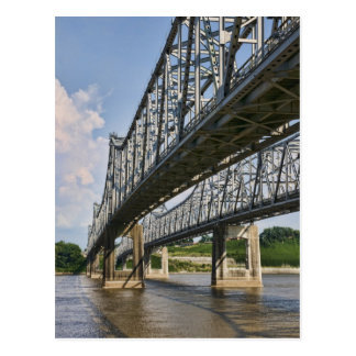 Mississippi Bridge at Natchez Postcard