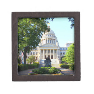 Mississippi Capitol Building Gift Box Souvenir