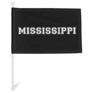 Mississippi Car Flag