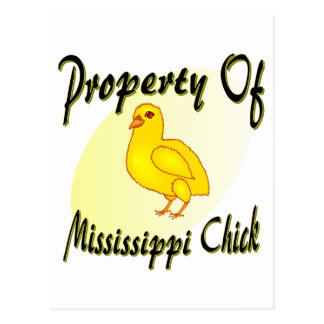 Mississippi Chick Postcard