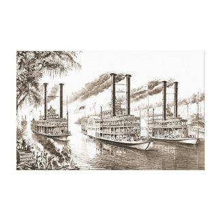 Mississippi defiende 1866 impresiones en lona estiradas