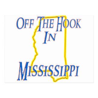 Mississippi - del gancho postales