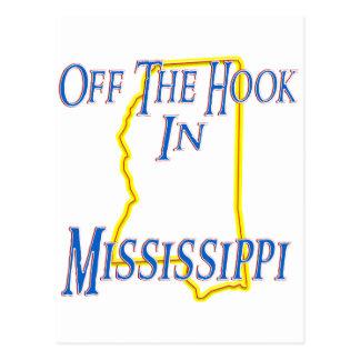 Mississippi - del gancho tarjeta postal